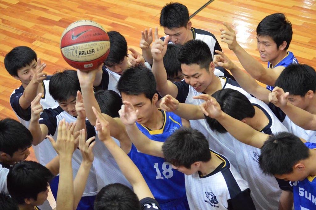 男子バスケットボール部部活ブログ画像